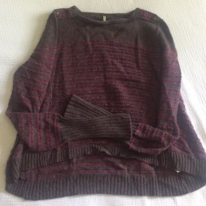 FP High/low sweater